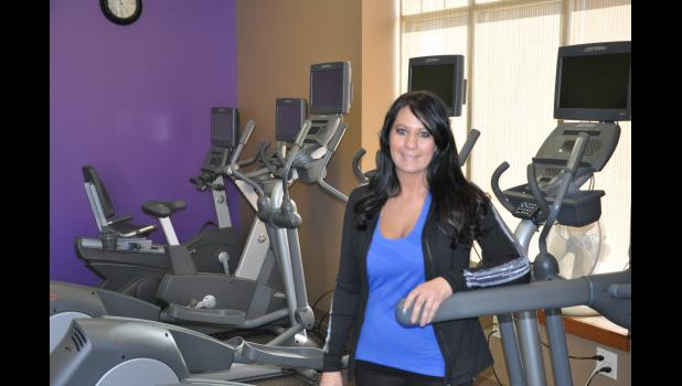Kendra Edwards (pictured) and her husband, Craig Edwards, became the new owners of Mondovi's Anytime Fitness on Feb. 1. Kendra said it was great timing for her family to purchase the gym, of which she has been a member since it opened, and she looks forward to dedicating her time and efforts to the facility to help local residents meet their health and fitness goals.