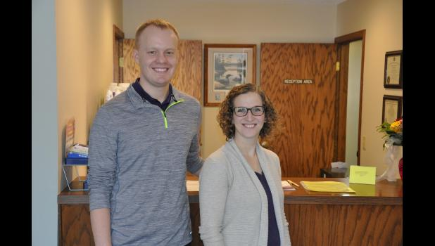 Doctors Jake and Andrea Jurgensen have joined Dr. James D. Schmittfranz Jr. at Mondovi Chiropractic Offices following a recent merger. The couple had worked with local chiropractic patients for three years as Jurgensen Chiropractic of Mondovi and will now work with Dr. Jim under the Mondovi Chiropractic name.
