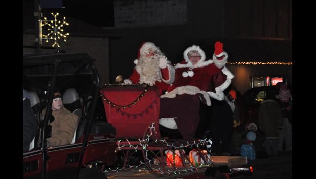 "Santa and Mrs. Claus will likely make another stop in Mondovi for the city's sixth annual ""Small Town Christmas"" celebration this Saturday, Dec. 5."