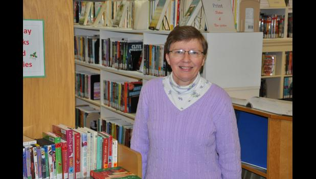 Cindy Krett was recently honored for her 25 years of employment with the Mondovi Public Library, where she works as an assistant librarian.