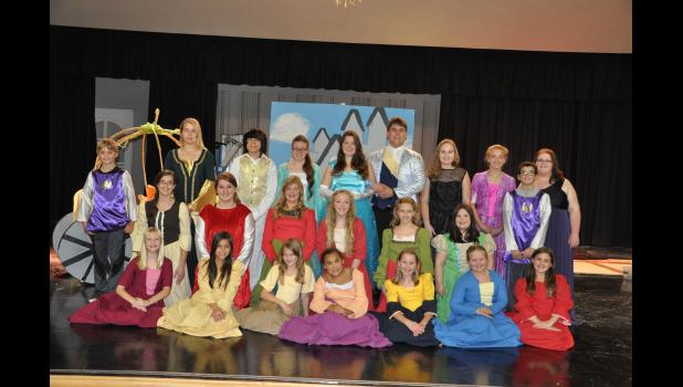 Mondovi High School will present the classic tale of Cinderella as its fall musical with performances this Friday and Saturday evening in the high school multipurpose room.