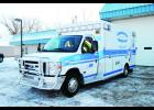 The Durand Ambulance Service's new ambulance arrived earlier this December, and will help the Service continue to serve the community. Laura Berndt photo