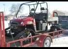 The Mondovi Fire Department brought its UTV to the recent Vintage Snowmobile Show to display its new set of all-terrain tracks, purchased with help from a joint project between the MFD and the Mondovi-Gilmanton Sno-Blazers Snowmobile Club.