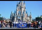 On March 30, the Mondovi High School Marching Band performed at the Magic Kingdom Park in Orlando, Fla during their spring break band trip March 27- April 2. The Marching band was under the direction of Tyler Halverson and Robin Helbing.