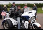 Bill and Pam Ingram, Durand area residents, spent this past weekend riding with Wisconsin Governor Scott Walker on his annual motorcycle ride. Submitted photo