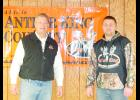 Todd Stittleburg, from Antler King, spoke at a seminar at the Durand Rod and Gun Club February 11, hosted by Countryside Cooperative. Jason Karshbaum, seed warehouse manager at Countryside Cooperative, organized the event.