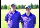 Above are Drew Bryan and TJ Tulip at the Division 3 Boys' Sectional competition in Cadott. Submitted photo
